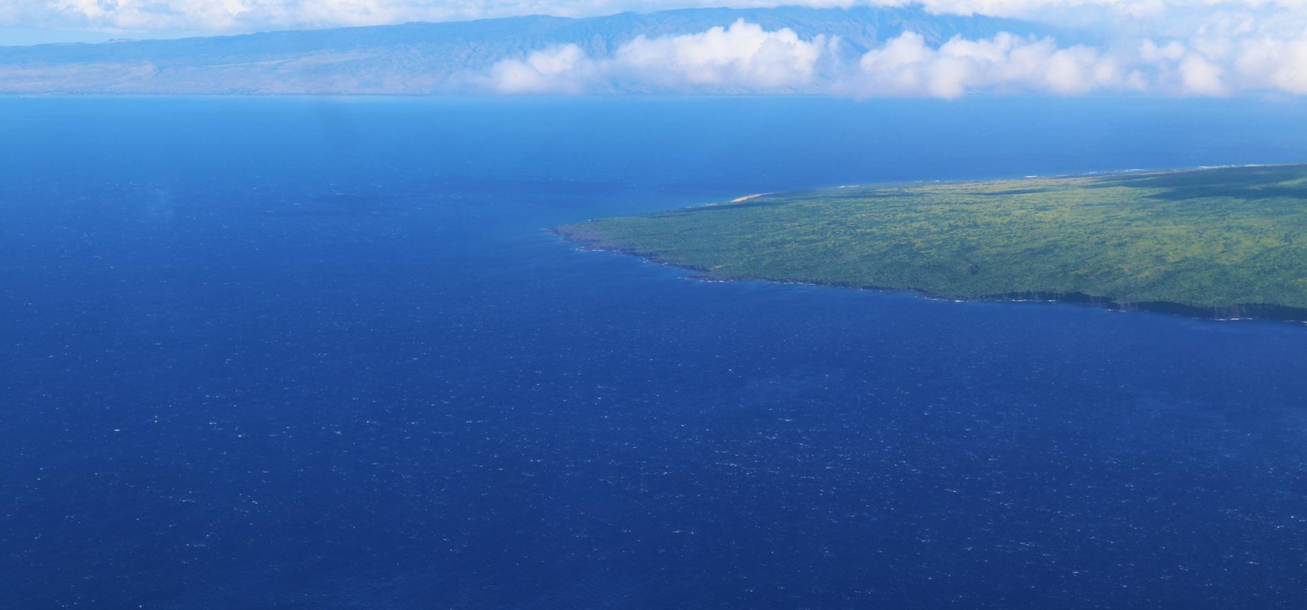 Lanai coast
